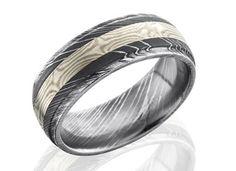 Mokume Rings | Unique Rings Wedding Bands | Unique Mens Rings |Mokume Gane Jewelry | Austin Texas