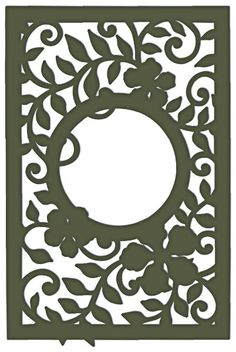 Heartfelt Creations Decorative Leafy Frame HCD 731 by PNWCrafts, $26.99