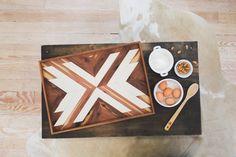 Arrow Wooden Breakfast Tray by IfYouGiveAGirlASaw on Etsy https://www.etsy.com/listing/266227860/arrow-wooden-breakfast-tray