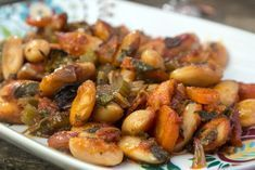 Γίγαντες Πρεσπών με 4 μυστικά Bean Recipes, Vegetarian Recipes, Cooking Recipes, Food N, Food And Drink, Cypriot Food, Greek Cooking, Greek Dishes, Butter Beans