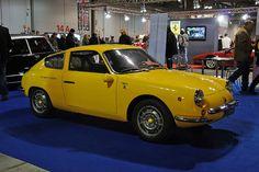 Fiat Abarth 1000 Zagato, Yellow