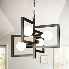 4 Heads Industrial Pendant Light Chandelier Ceiling Lamp for Kitchen Room Office - All About Decoration Kitchen Island Lighting Modern, Ceiling Lamp, Ceiling Lights, Buy Lamps, Industrial Pendant Lights, Room Lamp, Chandelier Lighting, Pendant Chandelier, Hanging Lights