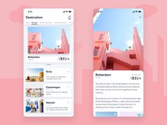 Travel app designed by Jarvan. Connect with them on Dribbble; the global community for designers and creative professionals. Flat Web Design, App Ui Design, User Interface Design, Design Design, Dashboard Design, Website Design Layout, Web Layout, Design Layouts, Website Designs