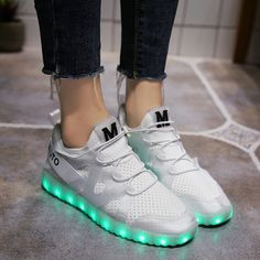 hot sales 38221 1f6c6 Find More Sneakers Information about KRIATIV NEW FASHION glowing sneakers  for girls light up shoes illuminated