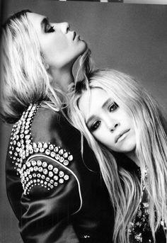 The Olsen Twins.