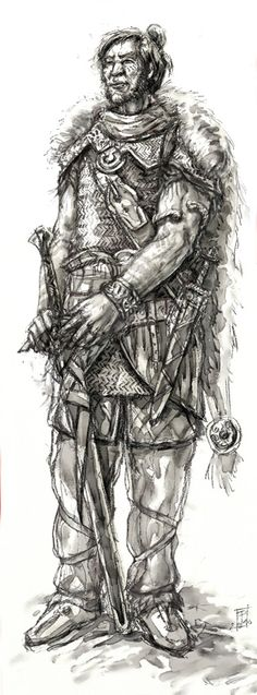 DrDII : Hrun the Barbarian by Merlkir