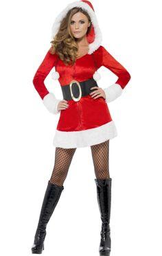 Ladies' Santa Costume | Jokers Masquerade