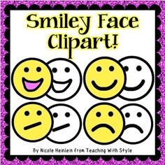 Freebie smiley face clipart!