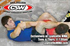CSW, created by legendary MMA trainer Erik Paulson, blends Judo, Freestyle Wrestling, and Greco-Roman Wrestling with techniques and submissions from Shootwrestling, Brazilian Jiu-Jitsu, Sambo, and Catch-as-catch-can.  CSW trains the individual to strike, clinch, takedown, and submit on the ground in either a sport, mixed martial art, or self-defense environment.  It is laden with painful submission holds and a plethora of devastating leg locks…
