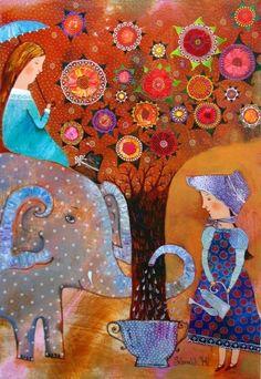 Anna Silivonchik ~ Miracle Tree