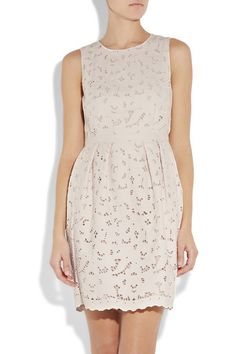Floral-cutout Cotton Dress by Stella McCartney @  $1,735.00