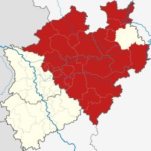 Westfalen (Karte)