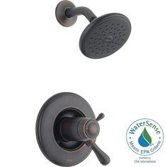 Delta Leland TempAssure 17T Series 1-Handle Shower Faucet Trim Kit Only in