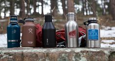Insulated, stainless steel beer growlers are awesome for camping. But with so many to choose from, which is the best? We put five to the test.
