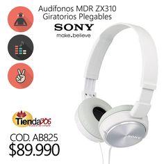 Audífonos Sony MDR ZX310 Giratorios Plegables 1.2M