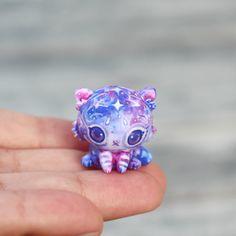 Amethyst Angel Galaxy Tiger Cub by TheLittleMew on Etsy