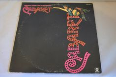 Vintage Record Original Soundtrack: Cabaret Album ABCD-752 by FloridaFinders on Etsy