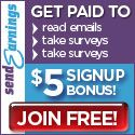 Earn cash reading Emails, Taking Surveys, Completing Simple Tasks & Trying New Products.  FREE to Join!