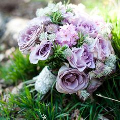 Lavender bridal bouquet Firenza-Floral-Design-Sarah-Mason #purpleflowers