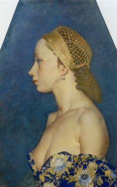 Costanza :: Sir William Russell Flint - 8 female portraits hall