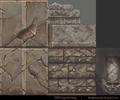 [UDK] Forgotten Keep - Hand painted Dungeon - Polycount Forum