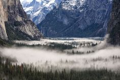 Yosemite Valley fog Photo by Johns Tsai — National Geographic Your Shot