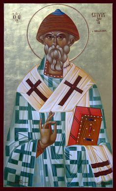 Άγ.Σπυρίδων ο Θαυματουργός, επίσκοπος Τριμυθούντος Κύπρου  _DEC 12