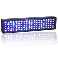 MarsAqua Dimmable 300w LED Aquarium Light lighting Full Spectrum For Freshwater and Saltwater Fish Coral Tank Blue and White LPS/SPS - http://www.bunnybits.org/marsaqua-dimmable-300w-led-aquarium-light-lighting-full-spectrum-for-freshwater-and-saltwater-fish-coral-tank-blue-and-white-lpssps/