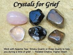 Healing crystals for Grief~ Discover the power of Crystals.