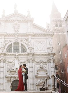 Photography: Koby & Terilyn Brown, Archetype Studio - ArchetypeStudioInc.com Read More on SMP: http://www.stylemepretty.com/destination-weddings/italy-weddings/2016/03/28/romantic-luxe-elopement-inspiration-in-venice-italy/