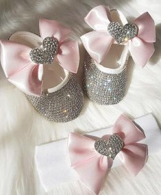 Custom Sparkle Bow Princess Rhinestone Baby Shoes Baby Toddler Bling First Walkers Baby Girl Shoes Noble Grey Red Pink Butterfl Durable Service Mother & Kids