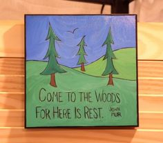 john muir   (this is my mantra)