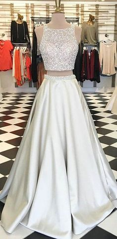 Hot sexy two-piece suit prom Dresses long prom dress, lace prom dress, long sleeve prom dress, a line prom dress, evening dress · prom dress · Online Store Powered by Storenvy Bling Prom Dresses, Gorgeous Prom Dresses, Homecoming Dresses Long, Junior Prom Dresses, Prom Dresses Two Piece, Prom Dresses For Teens, Elegant Prom Dresses, Prom Dresses Long With Sleeves, Beaded Prom Dress