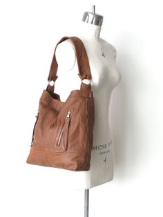 Eco Friendly The Dakota Recycled Leather Handbag in by 14xbags, $210.00