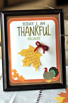{HOLIDAY} thanksgiving thankful tree - Creative Juice