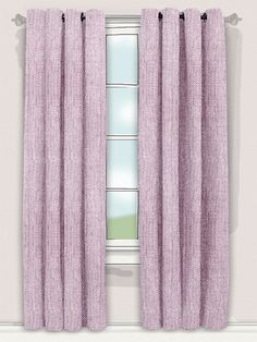 our Beaumont Linen Thistle curtains bring contemporary pastel shades and traditional linen weave together to create a beautiful and stylish look to your room. What's more, they even come self-lined with a dim-out lining to keep your room nice and shaded! #linen #curtain