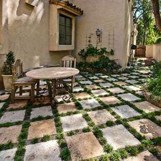 Tuscan Country Decor outdoor | outdoor tuscan tile