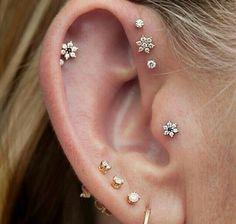 Multiple earrings for my multiple piercings