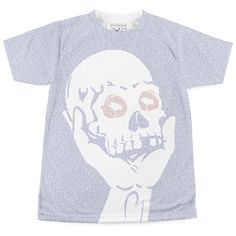 This t-shirt is created entirely from the text of Hamlet. Up to 40,000 words per t-shirt.