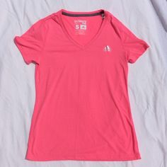 Adidas NWOT Pink Tee NWOT pink t-shirt. Climalite material. Never worn. Adidas Tops Tees - Short Sleeve