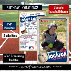 Discover recipes, home ideas, style inspiration and other ideas to try. Baseball Card Displays, Baseball Card Values, Baseball Cards For Sale, Baseball Birthday Invitations, Baby Shower Invitations, Baseball Card Template, Chicago Cubs Baseball, Trading Cards, Soccer