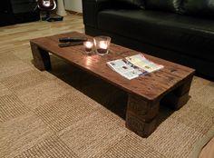 Palettenmöbel - Tisch von Woody Paletten Design auf DaWanda.com