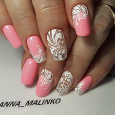 Hey there lovers of nail art! In this post we are going to share with you some Magnificent Nail Art Designs that are going to catch your eye and that you will want to copy for sure. Nail art is gaining more… Read more › Fabulous Nails, Gorgeous Nails, Pretty Nails, Simple Nail Art Designs, Easy Nail Art, Hot Nails, Pink Nails, Nagellack Design, Fancy Nails