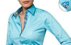 French Flair Shirt 39 Polka-dot Lining $94.90 USD | Our Latest ...