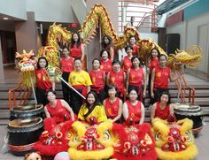 """Gund Kwok women's lion dance troupe welcomes physical and mental challenges  By Ling-Mei Wong   Lion dancing is one heck of a workout, as the members of Gund Kwok can attest. Meaning """"heroine"""" in Chinese, the Asian women's lion dance and dragon dance group is only one of its kind in the United States."""