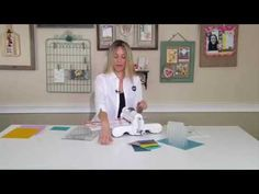 Sizzix: Embossing with the Big Shot Plus - YouTube