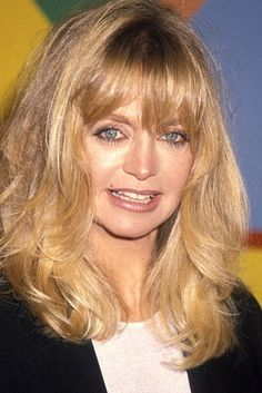 Goldie Hawn Goldie Hawn Kurt Russell, Sophia Loren Images, Hollywood Couples, Natural Hair Styles, Long Hair Styles, Woman Movie, Classic Movie Stars, Kate Hudson, Famous Faces