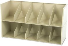 "Tennsco AS36LSD Add-A-Stack Shelving System 2-Shelf Filing Tier, 36w x 13-3/16d x 10h, Sand by Tennsco. $100.10. Intended for use with open shelf filing supplies, but accepts standard file folders (not included).. Start with a top and base?add as many tiers as needed.. Add-on tiers or shelves stack separately, creating flexible, expandable shelving.. Grows with filing needs.. Each filing tier has four fixed dividers spaced 7"" apart.. Grows with filing needs. Add-on tiers or sh..."