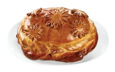 Russian Pie (Pirog) with Cabbage & Eggs. Made from scratch in-store. Russian Pastries, Russian Dishes, Russian Recipes, Winter Food, Winter Meals, Sour Cream Sauce, Appetizer Plates
