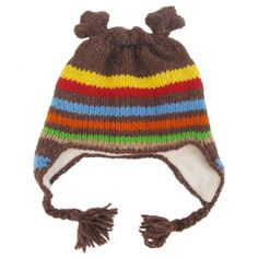 Someday I'll learn how to knit better! This would be way cute on a certain couple nephews heads'.